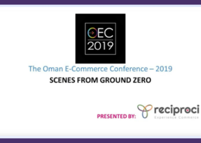 Scenes from Ground Zero – The Oman E-Commerce Conference – OEC 2019 [01:m,34:s]