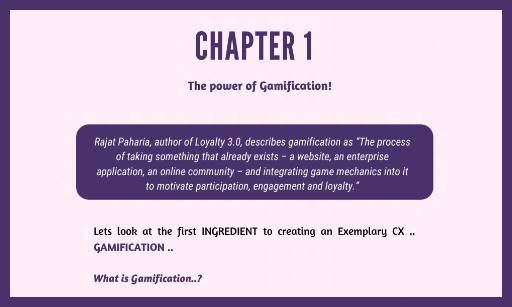 Chapter 1 : The Power of Gamification