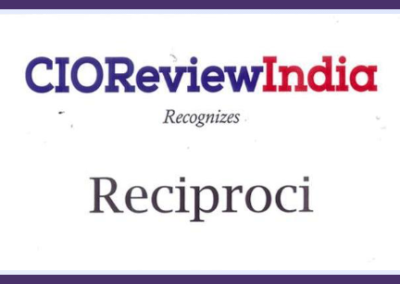 CIO Review India Recognizes Reciproci