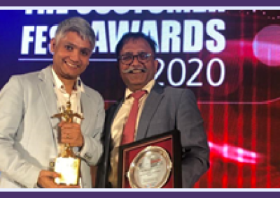 Customer Experience Startup Reciproci Bags awards for 'Best Use of Mobile in a Loyalty Program' at The Customer Fest Awards Show 2020