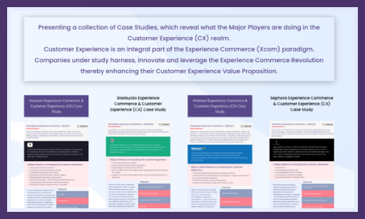 Experience Commerce & Customer Experience (CX) Case Study